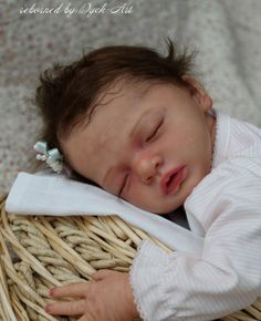 "Dyck-Art Reborn Baby doll ""JULIETTA"" Kit by NATALI BLICK Sold out!!!"