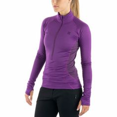 Zip-T: Made for high exertion in cold settings, base layers deliver warmth without inhibiting your mobility.