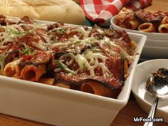 Baked Macaroni and Eggplant Neapolitan is like eggplant parmigiana and baked ziti all rolled into one. Every mouthful is pure delight! Seafood Casserole Recipes, Potatoe Casserole Recipes, Pasta Recipes, Appetizer Recipes, Cooking Recipes, Pasta Sauces, Italian Dishes, Italian Recipes, Baked Macaroni