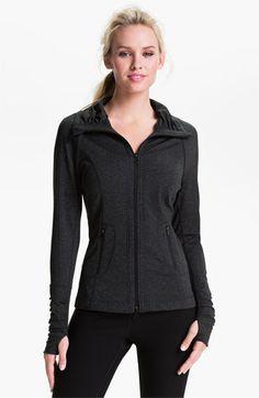 Zella 'Glam' Cross Dye Mèlange Jacket available at #Nordstrom. Thanks, Mom!