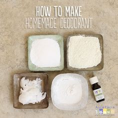 Use natural ingredients to make a homemade deodorant you can feel good about using.