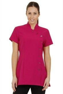 Proluxe Essentials Cross Body Tunic in Fuchsia