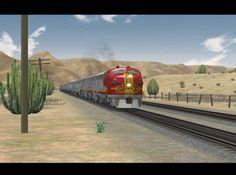 "...in the early 1950s, the Santa Fe Railway upgraded its ""Super Chief"" passenger service with new equipment to make it the most luxurious train in America. This came at a time when futuristic design was fashionable. How does 3DTrains' rendition look nearly sixty years later? This Microsoft Train Simulator review was filmed on: *Full Bucket Line (ScaleRail) *Rattlesnake Desert V1.2 *3DTrainstuff's Cajon Pass Links: The Official ""At The Railyard"" ..."
