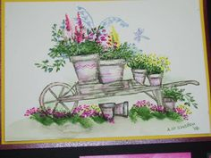 Barrow by MandyMc - Cards and Paper Crafts at Splitcoaststampers