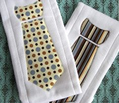 Baby Burp Cloths with Necktie.  This project has you, @Tammy Tarng Keating, written all over it.  ; )