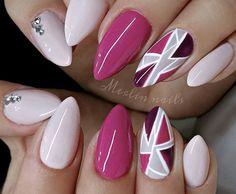 31 Looks: Pretty Pink Nail Inspiration > CherryCherryBeauty.com - merlin_nails / Instagram