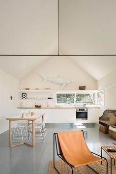 Minimalist Guesthouse in Vinalhaven Hovers Above Former Quarry - http://freshome.com/minimalist-guesthouse/