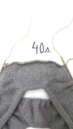 Helppo ohje paidan neulomiseen. Ylhäältä alas neulottu paita. Helppo ohje. Knitting Patterns Free, Knit Patterns, Crochet Chart, Knit Crochet, Bag Pattern Free, Knitting Projects, Handicraft, Needlework, Knitwear