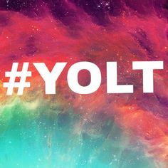 """Let's make this a trend. YOLT stands for """"You Only Live Twice."""" (Once on earth and once with God) Please put this after your username to show how many Christians there are on Pinterest. We can do this! ~Jacey #YOLT"""