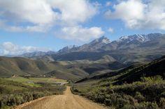 Swartberg mountains. Klein Karoo. South Africa