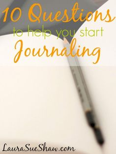Ever wanted to journal but wasn't sure where to start? Here are 10 simple questions that you can journal your answers to. You'll have a great start to your journaling habit that will capture thoughts, inspiration, and memories from throughout your life.