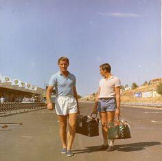 Jim Clark and Graham Hill at Pergusa in 1967
