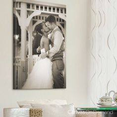 Sometimes It Only Takes One Unforgettable Picture Celebrate Your Wedding Day With A Custom Photo