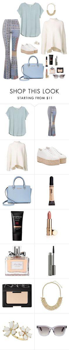 """M"" by butnotperfect ❤ liked on Polyvore featuring H&M, Topshop, URBAN ZEN, Miu Miu, Michael Kors, Smashbox, Christian Dior, MAC Cosmetics, NARS Cosmetics and Miss Selfridge"