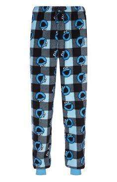 Primark - Cookie Monster Sherpa PJ Bottoms