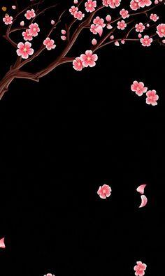 Black Background Wallpaper, Black Wallpaper Iphone, Flower Phone Wallpaper, Cellphone Wallpaper, Nature Wallpaper, Galaxy Wallpaper, Mobile Wallpaper, Flower Backgrounds, Black Backgrounds