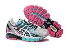 official photos 92a18 b167b Asics Gel Kinsei 4 Womens Neutral Grey Blue Peach Silver Cheap Sneakers, Nike  Shoes Cheap