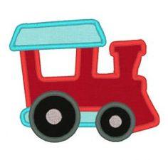 Designs :: Boys :: Train Applique