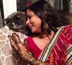 My Indian bride Latin Words, Norwegian Forest Cat, Cairn Terrier, Indian, Bride, Lady, Wedding, Wedding Bride, Valentines Day Weddings