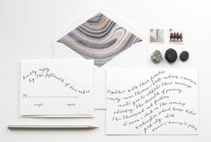 Modern Lines Invitation Suite by OWDDesignStudio on Etsy