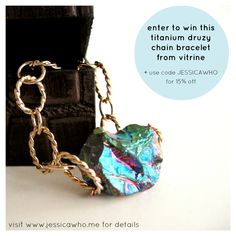 GIVEAWAY! http://contributors.luckymag.com/post/four-favorites-vitrine @jessica