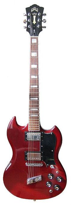 Guild S-100 Electric Guitar. Hell yes.