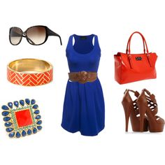 If I was a gators fan this outfit would be perfect, but I'm not...still cute
