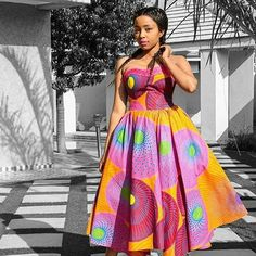 Cutie Short Ankara Gown Styles for Pretty Ladies - DeZango Fashion Zone