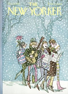 The New Yorker - Saturday, December 16, 1967 - Issue # 2235 - Vol. 43 - N° 43 - Cover by : Charles Saxon