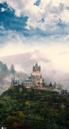 Cochem castle in Germany