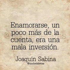 Joaquín Sabina - 65 años hoy.