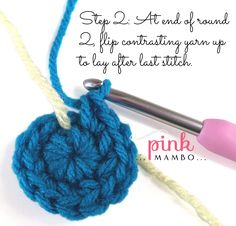 How to Single Crochet Flat Circles in a Continuous Rounds