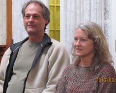 Joseph Forrest and Sarah Jones enjoying a Glen Ivy Center Community meeting. http://www.glenivy.org/