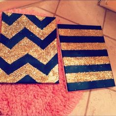 #chevron #canvas #painting
