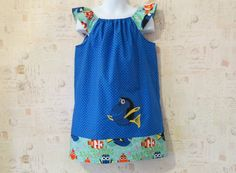 Finding Dory Flutter Sleeve Sun Dress by ChickadeeFashions on Etsy