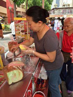 Singapore ice cream sandwich