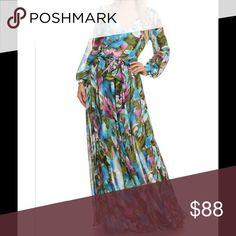 Long Floral Dress w/Tie Long floral dress w/tie 🌸 Dresses