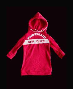 Purrmaid Off Duty