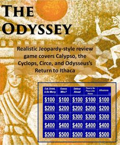 A fun review of the people, places, and plot of The Odyssey.