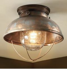 Cabela's Grand River Lodge™ Fisherman's Ceiling Light