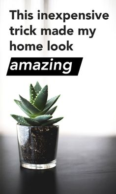 This inexpensive trick made my home look amazing Click visit link above for more details Hacks, Up House, Do It Yourself Home, Home Look, My New Room, Home Interior, Home Decor Accessories, Decoration, Container Gardening
