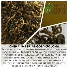 China Imperial Gold Oolong