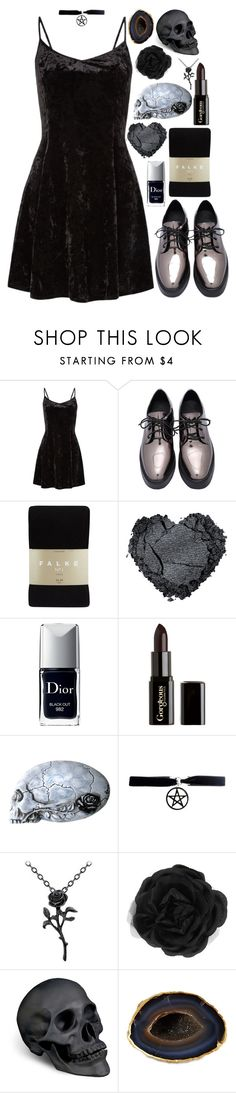 """Why Are You Leaving?The Fun just Started."" by wildflower-witch ❤ liked on Polyvore featuring Falke, Christian Dior, Gorgeous Cosmetics, Accessorize, L'Objet and Mapleton Drive"
