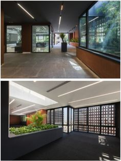 Brick Paneling, Project Site, Brick Block, Local Parks, Open Office, Brick Building, Building Materials, Ground Floor, Design Projects