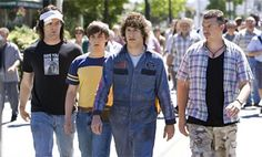 Pretty much everybody in Hot Rod: Dave, Kevin, Rod and Rico