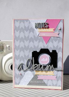 album photo polaroid avec etiquettes printable