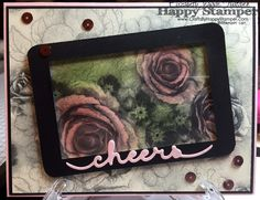 Stampin Up Greetings thinlits and Timeless Elegance card. Designer Paper Lover's Blog Hop