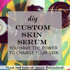 10 Simple DIY Serums For Every Skin Type!  Great list of essential oils and their benefits to the skin.