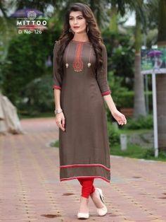 04e73635ab Mittoo Kurtis in surat - manufacturer Party wear Rayon Kurtis, Navratri  special kurtis gujarat