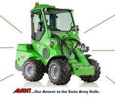 Compact Loaders: AVANT Tecno USA